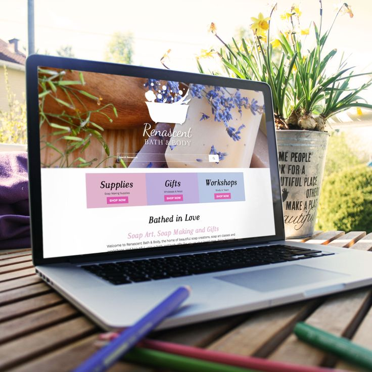 A complete brand refresh and new E-commerce website for the many exquisite Luxury Made Products. Unleash Your Creativity, Find or Become a Soap Art Instructor.  Check them out today and be bathed in love: www.renascentbathbody.com.au