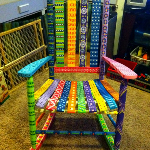 Best 25+ Painted Chairs Ideas Only On Pinterest | Hand Painted Chairs,  Painted Kids Chairs And Colorful Furniture