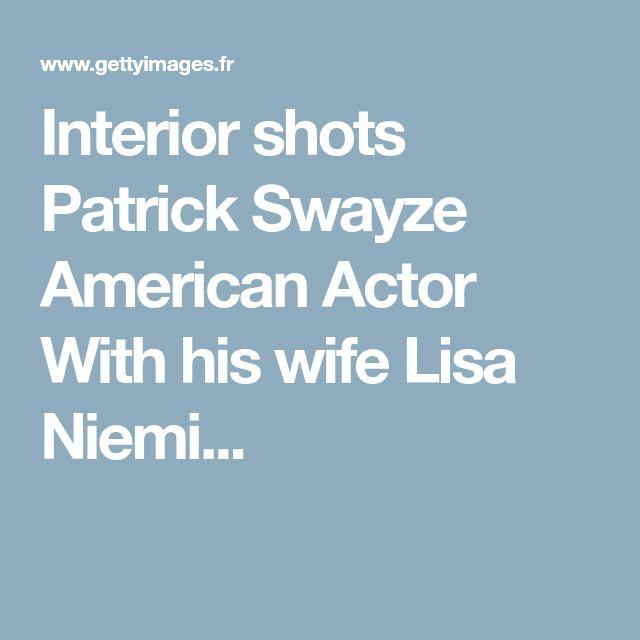 Interior shots Patrick Swayze American Actor With his wife Lisa Niemi...