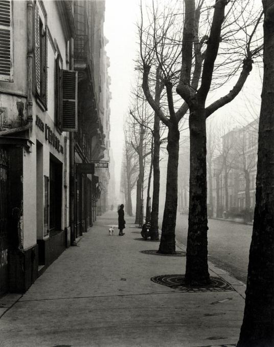 LOUIS STETTNER - Avenue de Chatillon, 14th Arrond., Paris, ca. 1949 | http://www.jacksonfineart.com/Louis-Stettner-3309.html