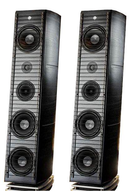 I diffusori Gamut Superior RS7, sono adatti ad ambienti di grandi dimensioni e sono caratterizzati da una riproduzione estremamente accurata.