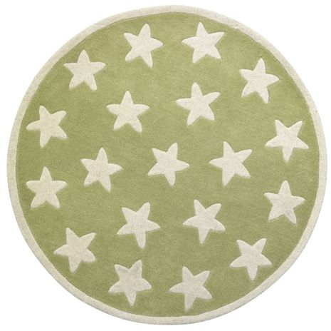 Kids Concept, Star, Ullmatta, Små stjärnor, Grön