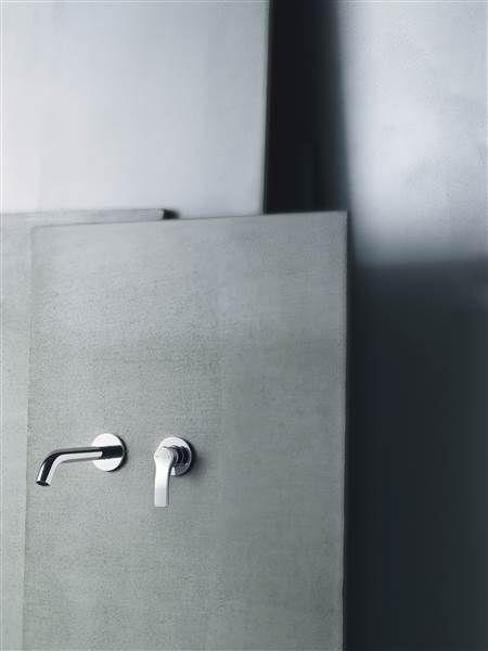 grifo.lavabo-empotrado-fantini-lissoni- que podrás comprar en terraceramica.es #grifos #grifería #baños #diseño #arquitectura #terraceramica