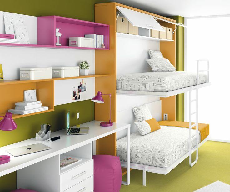 Mejores 45 imágenes de camas abatibles en Pinterest | Camas ...