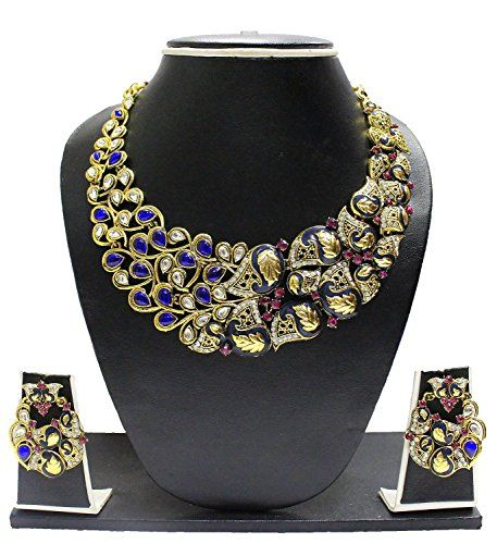 Indian Bollywood Inspired Gold Plated Blue Stone Elegant ... https://www.amazon.com/dp/B01MY96CD4/ref=cm_sw_r_pi_dp_x_bHDHybGG4N5H2
