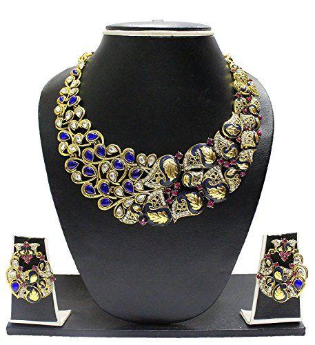 Indian Bollywood Inspired Gold Plated Blue Stone Elegant ... https://www.amazon.com/dp/B01MY96CD4/ref=cm_sw_r_pi_dp_x_QLxLyb6E99B2J