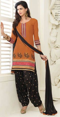Buy Fashion Now Party Wear Embroidered Patiala Salwar Kameez Online online at best prices. Get discount on Patiala Salwar Suit, Salwar Kameez with home delivery from Fashionnow.