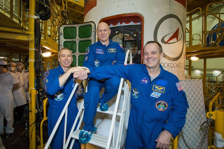Soyuz crew set for Wednesday launch on station flight