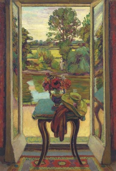 THE FRENCH WINDOW, CHARLESTON By Duncan Grant
