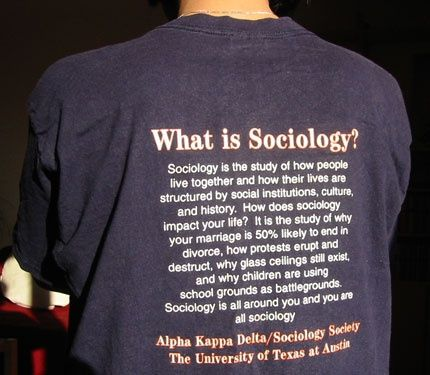 a history of sociology Ba history and sociology will allow you to study past and present societies from  both a historical and a sociological perspective, comparing and contrasting.