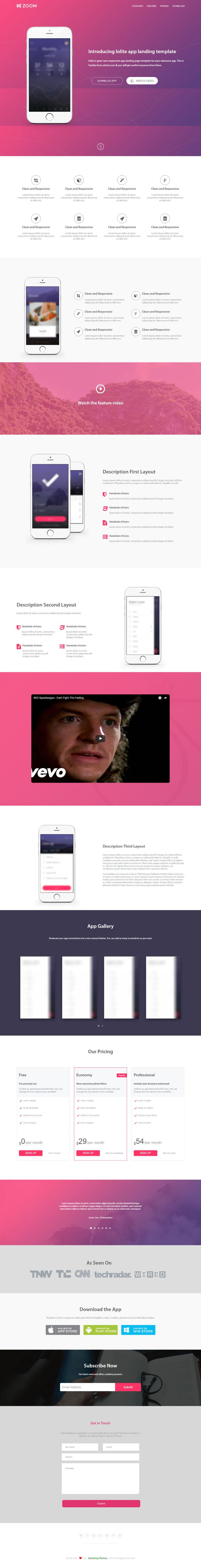 31 best Bootstrap Themes images on Pinterest | Free html website ...