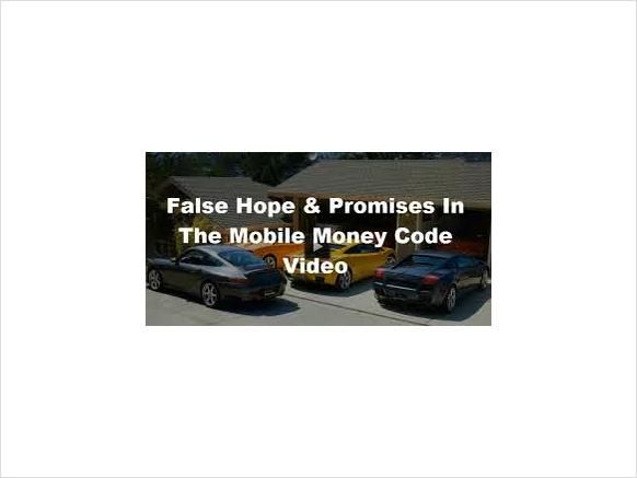 If you're reading this page, you're obviously familiar already with Mobile Money Code and most likely are wondering if it is actually worth pursuing and ...