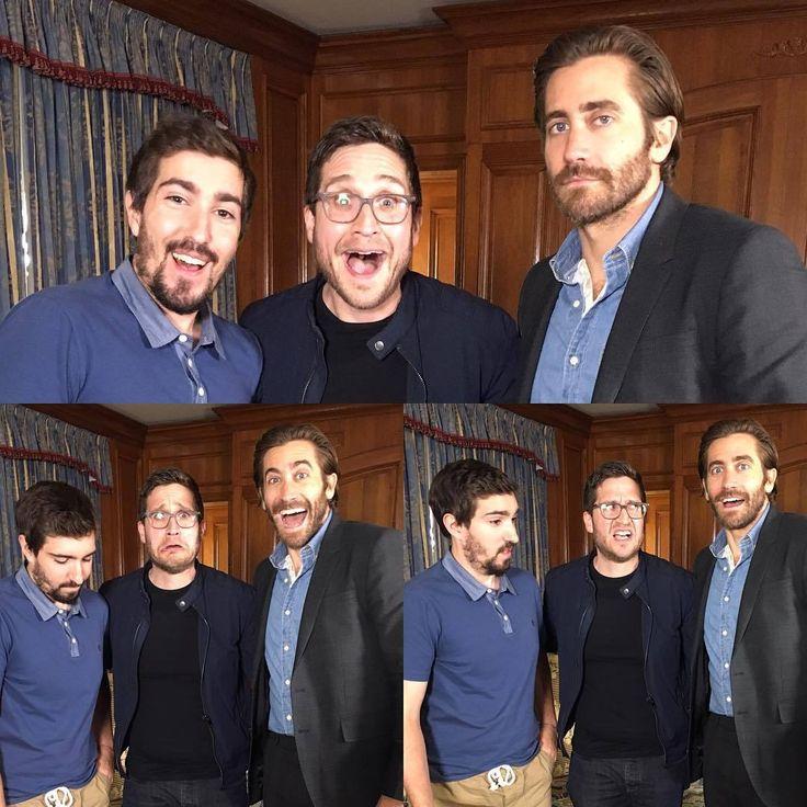 @joshuahorowitz: Happy/Sad/Confused. With Jake Gyllenhaal & Jeff Bauman.