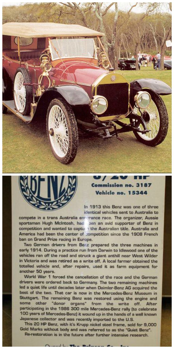 This 1912 benz 8 20hp is currently under restoration in our bruceadams190sl facilities in