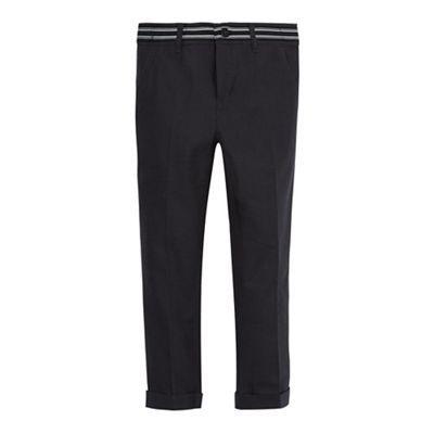 RJR.John Rocha Boys' grey textured slim fit trousers | Debenhams