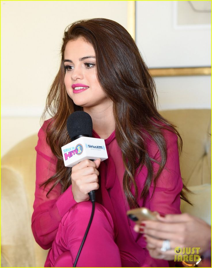 Selena Gomez Will Present at Grammys 2016: Photo #927972. Selena Gomez is pretty in pink during her appearance with The Morning Mash Up on SiriusXM's SiriusXM Hits 1 held at Peninsula Hotel on Friday (February 12) in Beverly…