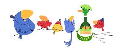 ¡Google te desea un feliz Año Nuevo!