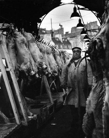 Atelier Robert Doisneau | Galeries virtuelles des photographies de Doisneau - Paris - Les Halles