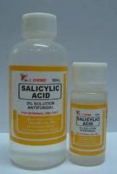 Salicylic acid for feet