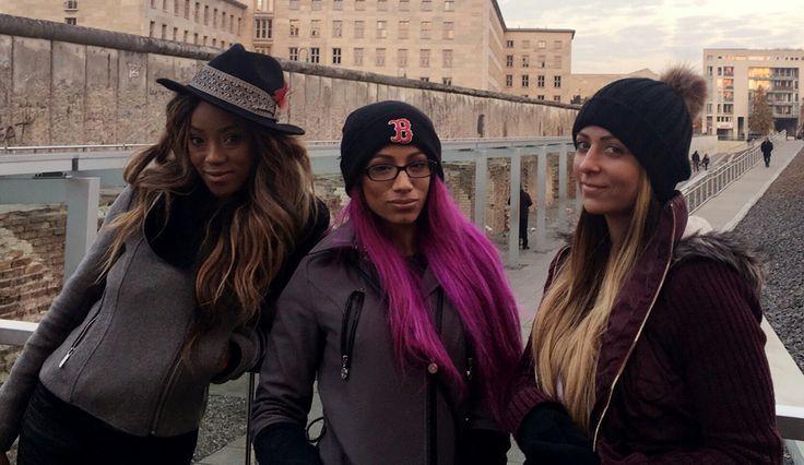 Sasha Banks, Alicia Fox, Emma