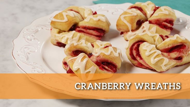 Our Cranberry Wreaths are a festive way to use fresh cranberries, perfect for a holiday brunch! Sweet and a little tart, these wreaths dress up any table setting!  Wrap yourself up in the recipe here: http://makegood.ca/recipe/cranberry-wreaths  #makegood #recipe #food #brunch #foodie #dessert #sweet #cranberry #entertaining #family #Christmas #holiday #baking