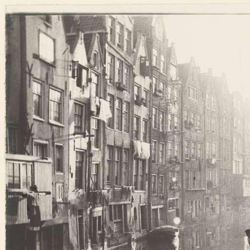 Het Kolkje en de Oudezijds Achterburgwal in Amsterdam, George Hendrik Breitner, 1894 - 1898 - Foto's - Kunstwerken - Ontdek de collectie - Rijksmuseum