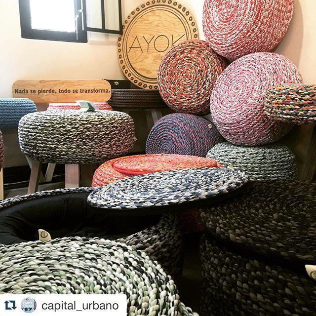 Muchas gracias a Capital Urbano por recibirnos de en su bazar y por apoyar el #diseñomexicano !  @capital_urbano with @repostapp. #repost ・・・ @ayok