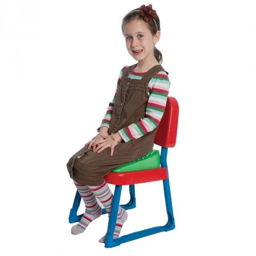 Lean-N-Learn Wedge Cushion | ADD Cushion Therapy | Seat Cushion | Wedge Cushion | Balance Training Tools | Fun and Function
