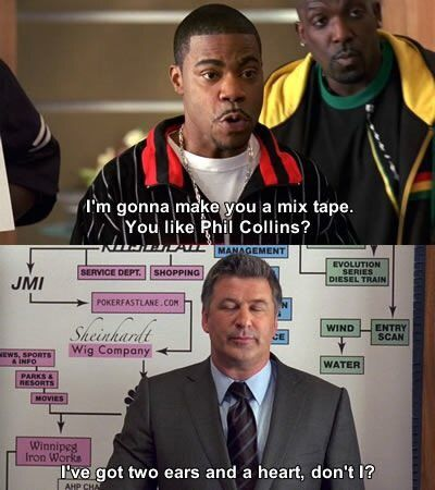 Jack Donaghy Quote - Phil Collins