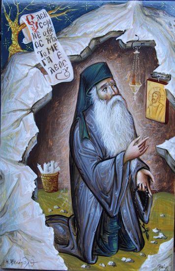 Οσιος Θεοφανης Ο Εγκλειστος (1815 - 1894)       _ January 6         ( Κανόνας προσευχής, οι Ψαλμοί, το κομποσχοίνι (Όσιος Θεοφάνης ο Έγκλειστος)