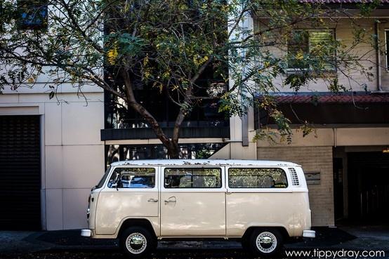 Vintage Volkswagen Bus