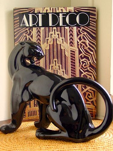 art deco panther - Google Search
