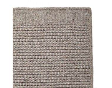 Possible for living room  -  It's easy to bring elegance to your living space with our stylish Kolong Rug. The contrasting weft yarns provide depth, while the flat woollen weave brings texture. Designed in Denmark and ethically made in India by our experienced partner suppliers, this Care