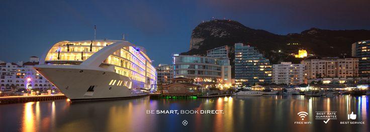 Sunborn Gibraltar   Official Website   5 star Hotel in Gibraltar