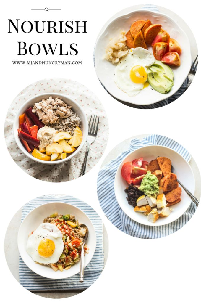 Quick and Easy Weeknight Nourish Bowls - The Adventures of MJ and Hungryman