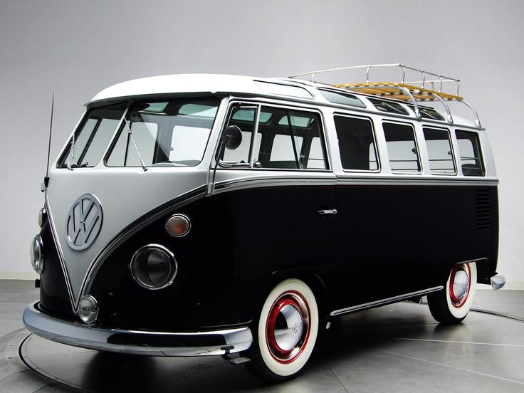 Volkswagen T1 Deluxe Samba Bus  Cool Vans  Pinterest