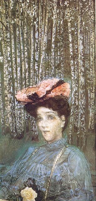 Nadeshda Sabela-Vrubel, 1900