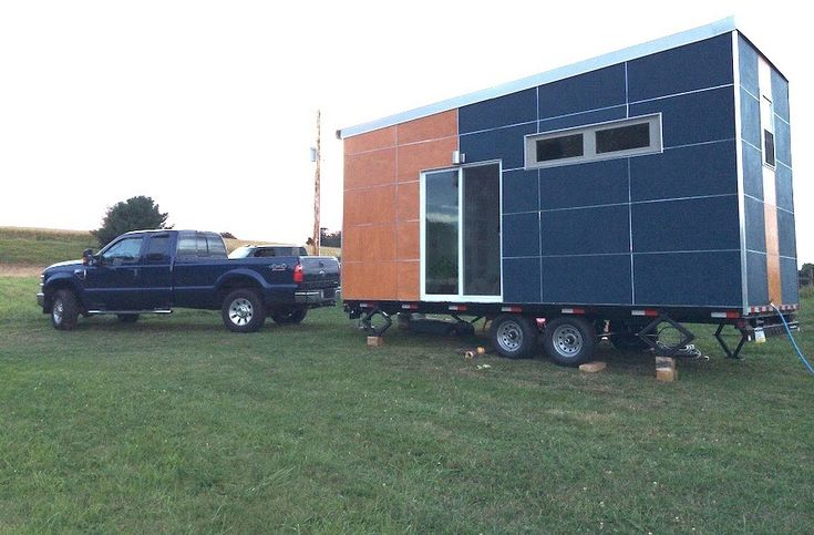 This is a 20 modern off grid tiny house on wheels for for Sip panels for sale