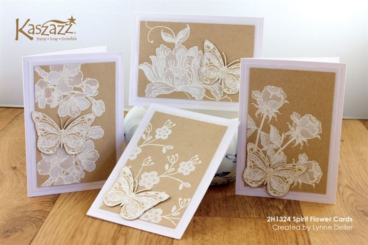 2H1324 Spirit Flower Cards