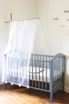 Best 20 ciel de lit b b ideas on pinterest chambre de tente diy d co cha - Ciel de lit bebe blanc ...