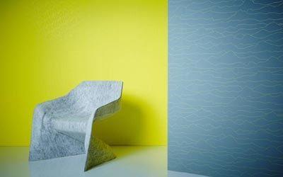 Klasické tapety z katalogu Aisslinger. Svěží pastelové barvy jsou vhodné do obývacího pokoje nebo jako tapety do kuchyně.