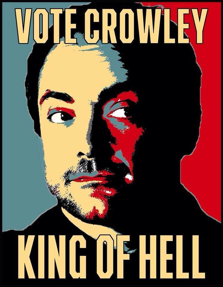 Vote Crowley Can't stop watching the TV series Supernatural