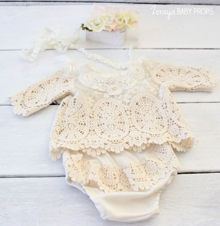 Lace Dress , Newborn Dress, Baby Props, Baby Photography, Newborn Photography…