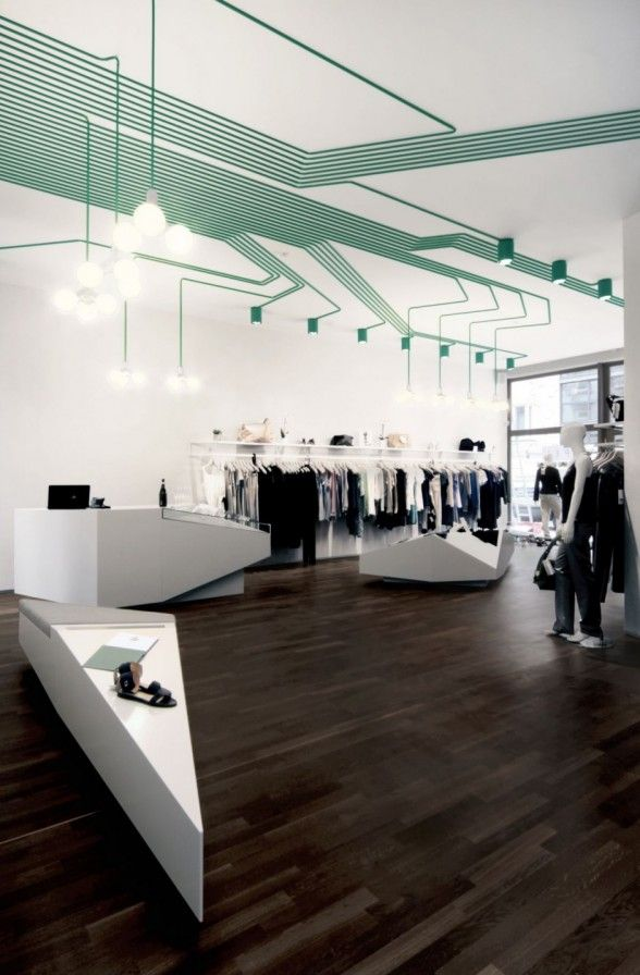 MAYGREEN fashion boutique in Hamburg, by KINZO....