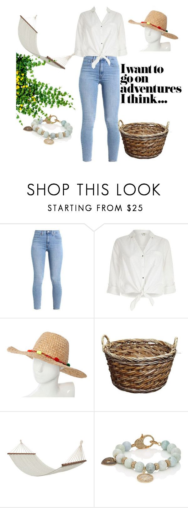 """Mississippi Swing"" by mickidavis on Polyvore featuring River Island, Pitusa, Bloomingville and Carole Shashona"