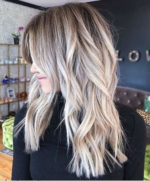 Prettiest Long Blunt Blonde Somber Hairstyles 2019 For Your Distinctive Style