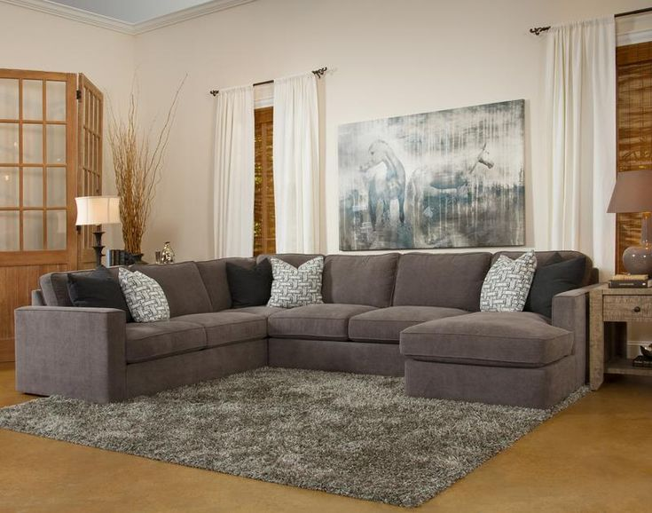 Fairmont Designs Stephan 3 Piece Sectional This impressive sectional includes a left-side corner sofa, armless loveseat and right-side chaise. Las Vegas Furniture Online   LasVegasFurnitureOnline   Lasvegasfurnitureonline.com