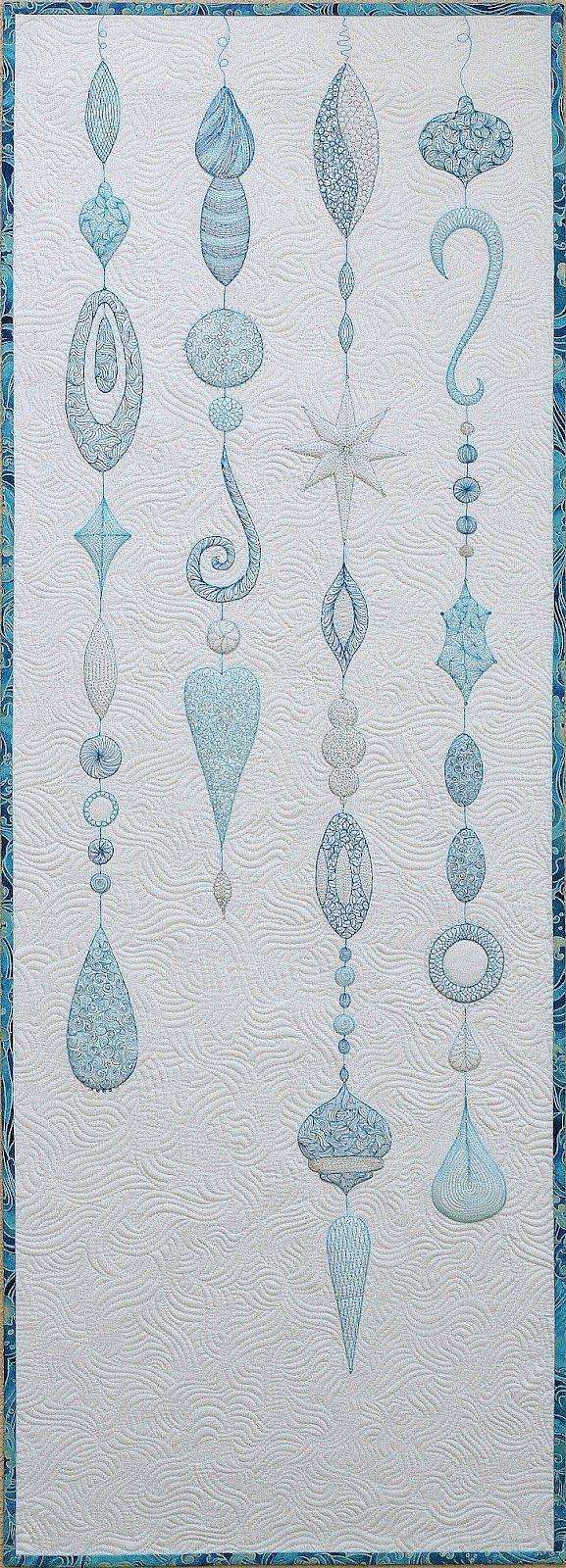 Sampaguita Quilts: Winter Baubles in AP&Q