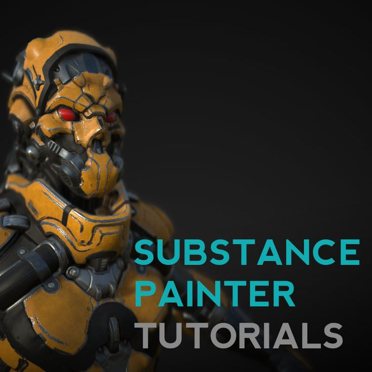 Substance Painter Quickstart Tutorials, Michael Pavlovich on ArtStation at https://www.artstation.com/artwork/substance-painter-quickstart-tutorials