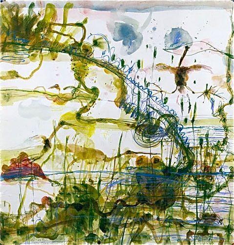 John Olsen 'The Little River' print